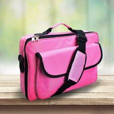 """Laptop Case 15.6"""" 17.3"""" 18"""" 18.4"""" Shoulder Messenger Bag for Tablet/MacBook Pink"""
