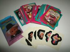 1992 Norfin Trolls Series 1 Trading Cards ~ Big Stack of Cards & Stickers
