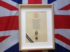 Army Catering Corps Oath Of Allegiance with Cap Badge