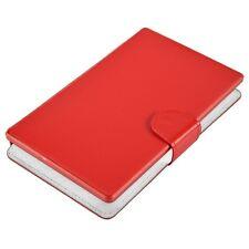 "Majestic CUS0177 Rosso custodia Tablet 6"" 6,5"" 7"" con tastiera microUSB ecopelle"