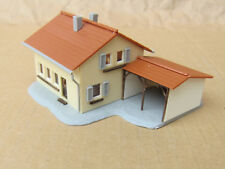 NEWLY-BUILT ~ SUBURBAN HOUSE with GARAGE by FALLER ~ N Scale Lot ~ Mayhayred