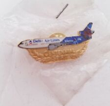 1996 Atlanta Olympic Games Delta Airlines Centennial Spirit Collectible Pin Nip