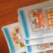 """Cluedo game'simpsons 'Edition, completo conjunto de tarjetas """"sala' . piezas Originales Hasbro"""
