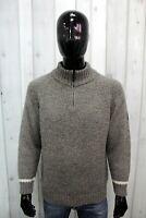 MURPHY&NYE Uomo Taglia M Maglione Lana Sweater Man Maglia Pullover Maglietta