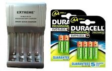 AA/AAA FAST 509 BATTERY CHARGER + 8 x AA 2500 mAh DURACELL DURALOCK BATTERIES