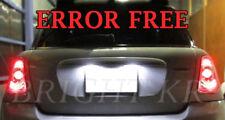 Mini Cooper R50 R52 R53 Xenon White Licence Number Plate LED Light Bulbs Upgrade
