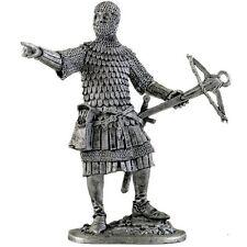 German crossbowman. Tin toy soldiers. 54mm miniature figurine. metal sculpture