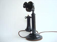Original Antique Western Electric Candlestick telephone  40AL SUPERB WORKING