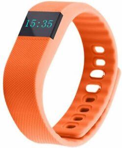 TW64 Waterproof Bluetooth 4.0 Activity Tracker Sport Bracelet Wristband - New