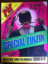 Pif Gadget n°783; La mode Zinzin