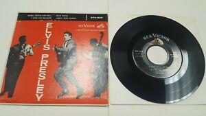 "Elvis Presley Shake,Rattle & Rolle 1956 7 "" EP 45 Rca EPA-830 Blue Moon, Lawdy"