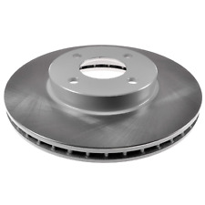 Pair of Front Brake Disc Fits Nissan Micra Note Sunny IX Blue Print ADN143154