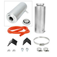 Silver 800ml Universal Radiator Coolant Aluminum Tank Overflow Reservoir (Fits: Lancia)