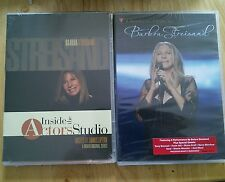 BARBRA STREISAND MUSIC DVDs INSIDE THE ACTORS STUDIO & MUSIC CARES *NEW* 2 DVDs