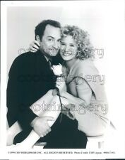 1999 Actors Kevin Pollack & Nancy Travis in Work With Me TV Show Press Photo