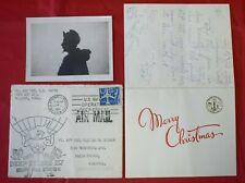 Mayfairstamps US 1959 Deep Freeze Antarctica Cover Christmas Card & Photo to Fal
