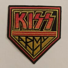 Kiss Army Iron-on Embroidered Hard Rock Band Patch