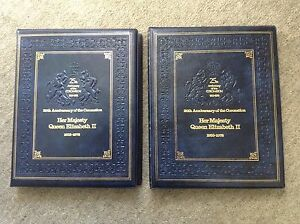 Two Albums Of Stamps - 25th Anniversary Of Coronation - The Lyndhurst Album 1978