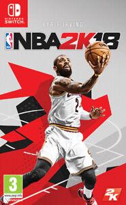 NBA 2K18 (Basket-Ball 2018) Nintendo Interrupteur Take Two Interactive