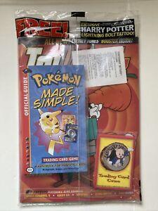 Pokemon Top Deck magazine Vol 2 Nov 2000 New Sealed Looney Tones Trading Cards