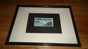 THE TRAGICALLY HIP london astoria 2007-framed original advert