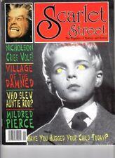 WoW! Scarlet Street #14 Village/Children Of The Damned! Wolf! The Strangler!
