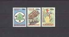 Vögel, Birds, Wald - Surinam - 1217-1219 ** MNH 1987