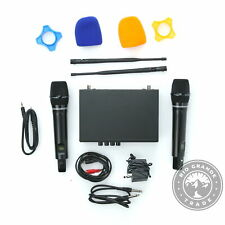 OPEN BOX KITHOUSE S9 UHF Rechargeable Wireless Karaoke Microphone System