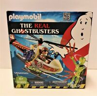 Playmobil The Real Ghostbusters Venkman with Helicopter Set #9385