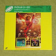 DAVID LEE ROTH [Van Halen] - RARE 1996 JAPAN REISSUE LASERDISC + OBI (WPLR-46)