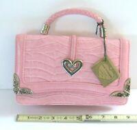 "Shopkins Girl/'s /""Piece of Cake/"" Blue and Purple Handbag w//Pink Strap"