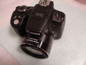 Very Nice Canon PowerShot SX50 HS 12.1 MP Digital Camera - Black