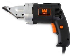 Electric Metal Shear 4 Amp 18-Gauge Variable Speed Swivel Head Nibbler Tool