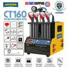 AUTOOL CT160 Car Ultrasonic Fuel Injector Cleaner&Tester Machine Upgrade CT150