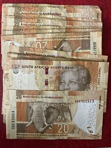 26 Pieces South Africa 20 Rand ** VF+ **