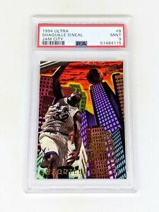 1994-95 Ultra Jam City #8 Shaquille O'Neal PSA 9 Orlando Magic HOF