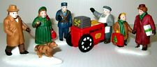 """Dept 56 """"City People"""" (Set Of 5) ~ (1987) ~ * Christmas In The City *"""