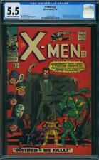 X-Men #22 CGC 5.5 -- 1966 -- Count Nefario, Scarecrow, Plantman #1215361018