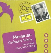 Pierre Boulez Myung-Whun Chung MESSIAEN Orchestral Works box CD NEW 10--disc