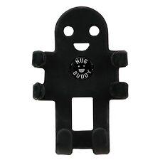 Hug Buddy Black - High Quality Flexible Mobile Phone Car Mount Holder Adjustable