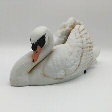 Vintage Willitts Designs 1985 Swan Musical Figurine - Plays Swan Lake - Wind Up