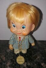Vintage 1960's British Invasion London Bob Rock & Roll Doll w/ Tag Made in Japan