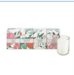 Sainsbury's Scented Candle gift set: Rose, Sandalwood, Blooming Garden & Peony