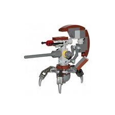 LEGO 75002 - STAR WARS - Droideka (Sniper Droid) - MINI FIG / MINI FIGURE