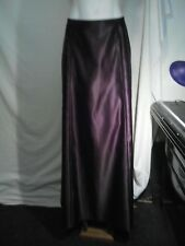 Rockmans Ladies Evening Skirt in a Dark Passion Purple Size 12 - NWOT