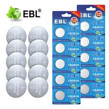 Ebl Cr2016 Type 2016 Ecr2016 3V Lithium Coin Watch Battery Expire 2029 10Pack