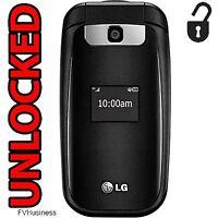 LG B470 UNLOCKED 3G GSM Flip Basic Cell Phone AT&T T-Mobile Worldwide *NEW*
