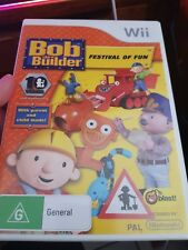 Bob The Builder - Festival of Fun  -  NINTENDO WII - FREE POST