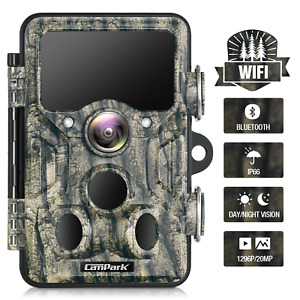 Wildlife Hunting Trail Camera 20MP 1296P Scouting Cam Infrared Night Vision Trap