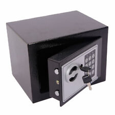 US Electronic Password Money Cash Deposit Safety Box With 2 Keys Home Office